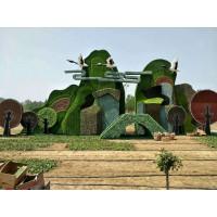 花园别墅的绿雕造型  仿真绿雕造型   植物造型
